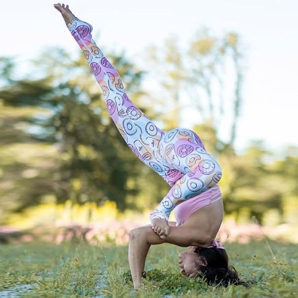 Симпатичная баспа өнімі йога шалбар - Спорттық киім мен керек-жарақтар - фото 6