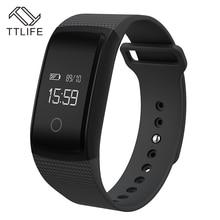 A09 TTLIFE Pulsera Inteligente Bluetooth Pulsera Pulsómetro IP67 Impermeable Del Deporte de la Aptitud Del Reloj Del Perseguidor para iPhone 7 xiaomi