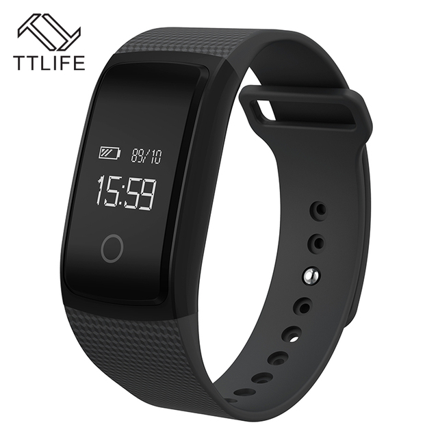 TTLIFE A09 Bluetooth Smart Bracelet Heart Rate Monitor Wristband IP67 Waterproof Sport Fitness Tracker Watch for iPhone 7 xiaomi