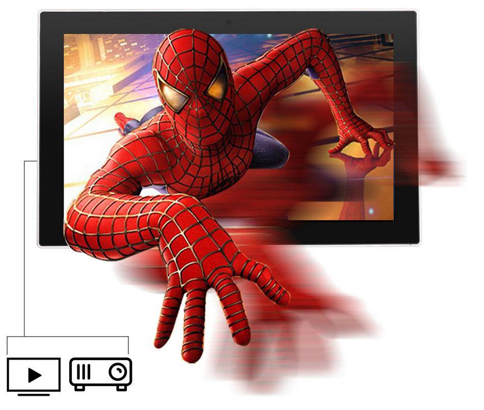 Jumper EZpad 5SE tablet PC 10.6\'\' Windows 10 IPS 1920 x1080 Intel Cherry Trail Z8300 4GB 64GB HDMI BT WiFi windows tablet laptop (8)