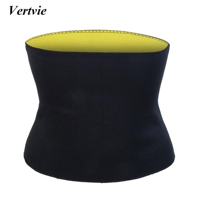 Vertvie Sports Waist Trainer Support Bodybuilding Slimming Body Shapers Corsets Waist Recovery & Support Postpartum Abdomen Belt