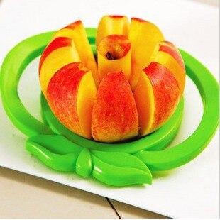 Gran dispositivo de corte de fruta de acero inoxidable en forma de apple apple s
