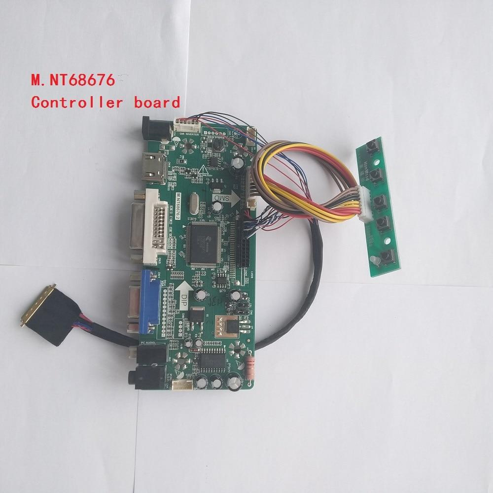 DVI VGA LCD LED Controller driver Board lvds Kit For QD15TL01 HDMI Audio