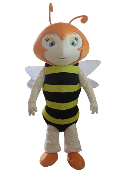 Advertising Bee Hornet Mascot Costume Suits Adults Cosplay Party Fancy Dress NEW