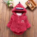 New 2016 Spring infant Winter Children Hoodies Jacket Coat Baby Girls Clothes Kids Toddle Outerwear Warm Coat for giirls infant