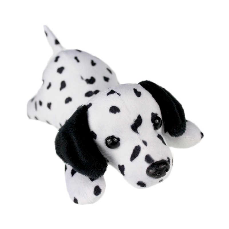 ของเล่นตุ๊กตาสุนัขสุนัข Dalmatian นุ่มตุ๊กตาเด็กชายหญิงสัตว์ขนาดเล็ก Shepherd สายรัดข้อมือคริสต์มาสของขวัญเด็ก