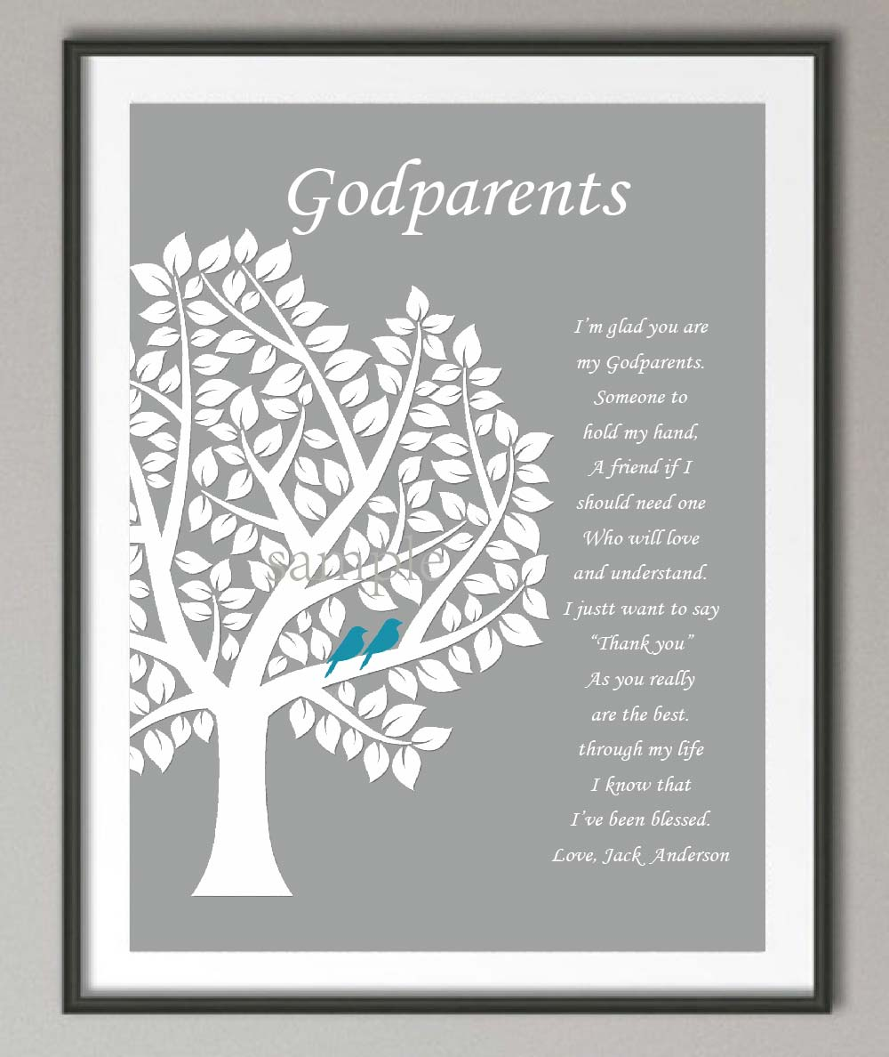 Personalized godparent gifts canvas painting family tree wall art personalized godparent gifts canvas painting family tree wall art poster print pictures wall decor baptism communion day gifts in painting calligraphy negle