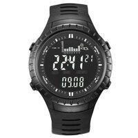 Spovan SPV710 Для мужчин цифровой Спорт Сигнализация часы, барометр, альтиметр, термометр StopwatchFishing кварцевый Водонепроницаемость часы