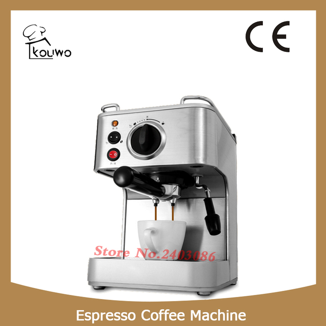 Kouwo Ce Ul Certification And 19 Bar Espresso Coffee Maker Type Machine