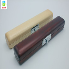 Quality Wooden Flute Case 17 Hole Flute Case With Hygrometer Maple Wood And Wooden Flute Head Case strong Beautiful Nice