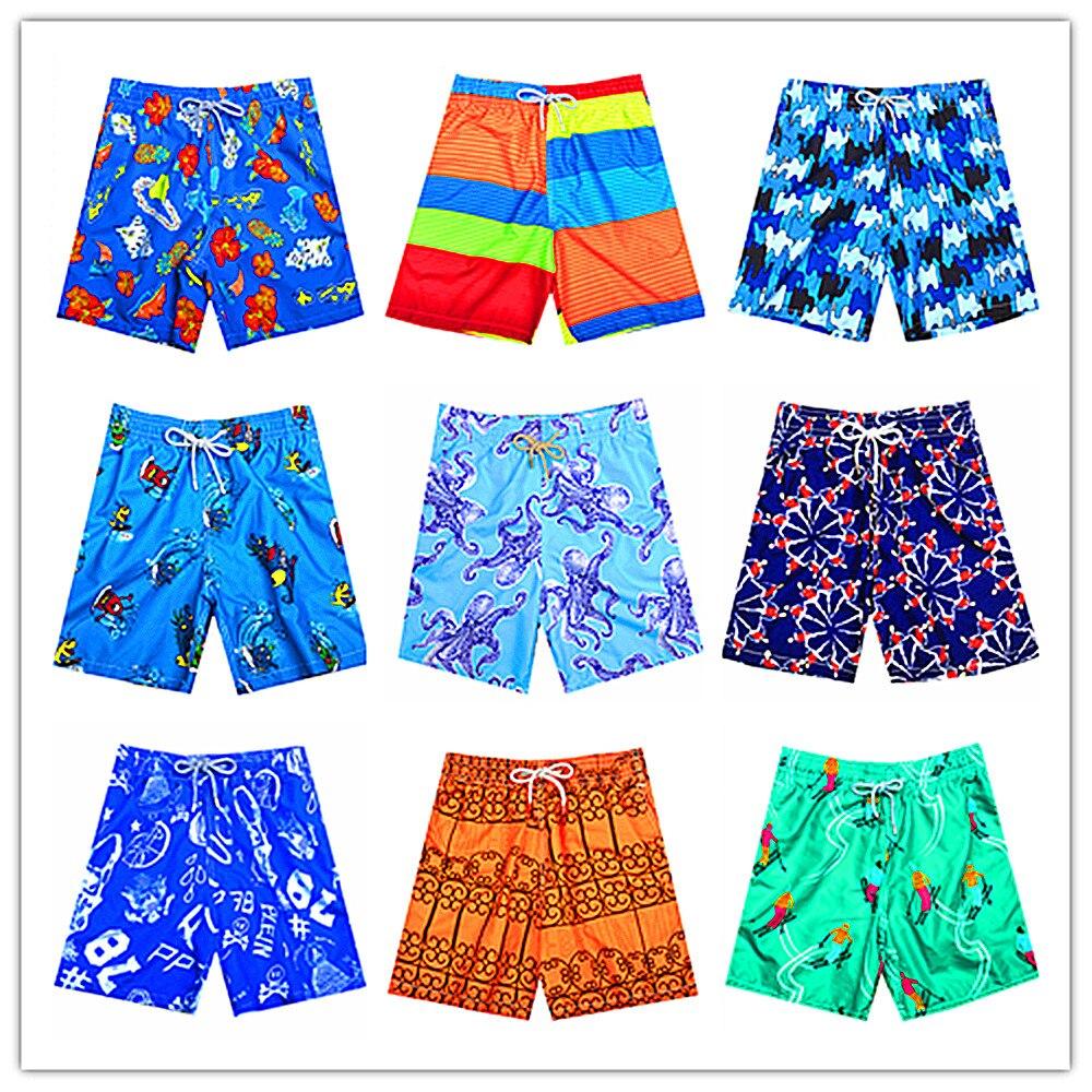 Steady 2019 Summer Brand Brevile Pullquin Swimwear Men Shark Turtle Printing Sexy Male Beach Shorts Bermuda Quick Dry Board Short M-xxl Men's Clothing