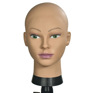 Image 4 - Bald Mannequin Head With Clamp Female Mannequin Head For Wig Making Hat Display Cosmetology Manikin Head For Makeup Practice