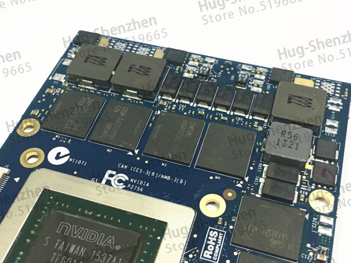Top voor Dell Alienware 18 M18X R2 R3 R4 18 inch laptop nVidia - Computer kabels en connectoren - Foto 4
