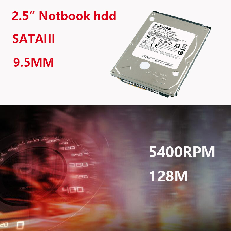 """Image 3 - TOSHIBA Laptop Hard Drive Disk 2000G 2T Internal HDD HD 2.5"""" 5400 RPM  128M Cache 9.5mm SATA3 MQ04ABD200 Original for Notebook-in Internal Hard Drives from Computer & Office"""