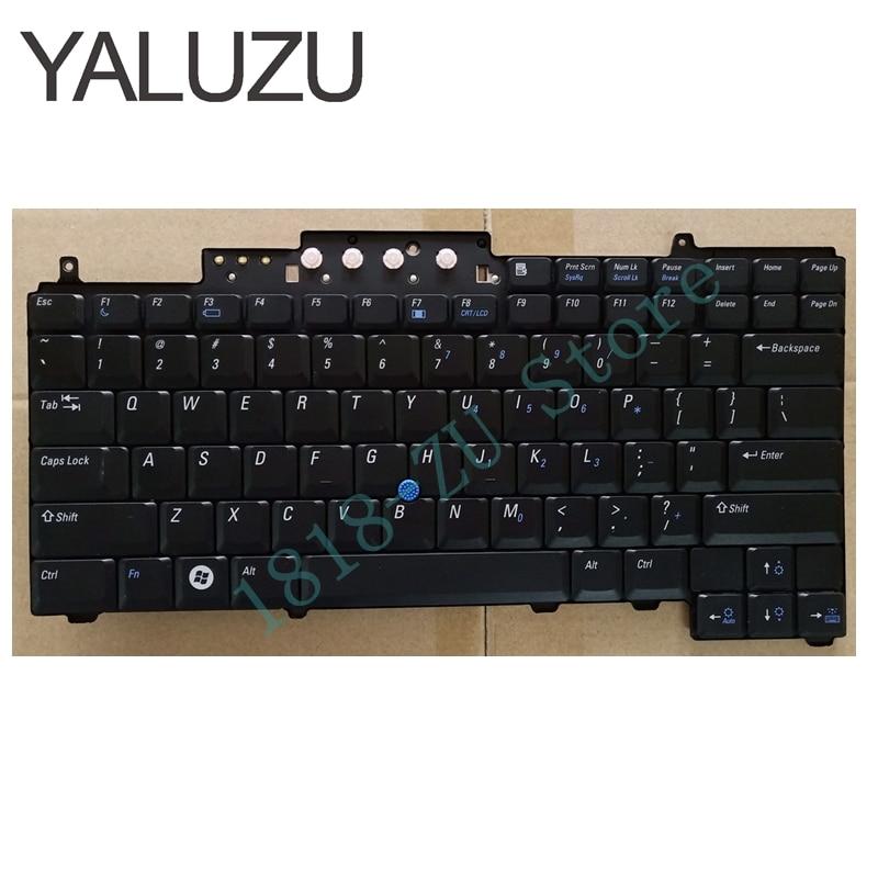 YALUZU New US Keyboard For DELL Latitude D620 D630 D820 D830 Keyboard