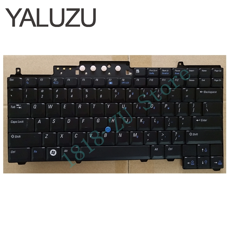 YALUZU Nuova Tastiera DEGLI STATI UNITI per DELL Latitude D620 D630 D820 D830 Tastiera