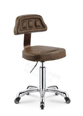 Купить с кэшбэком Explosion-proof version lift stool Beauty stool Work stool Master chair Hairdressing chair Back stool