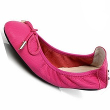 women genuine leather soft roll sole shallow flat shoes ladies girls casual ultra light flats 292w
