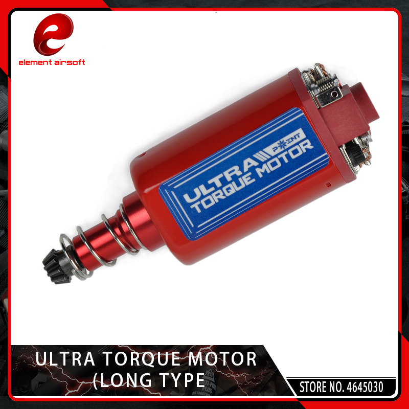 Element Ultra Torque Motor High Torque Type Strong Magnet Long Type For Airsoft M16/M4/MP5/G3/P90 AEG Motor 23600RPM
