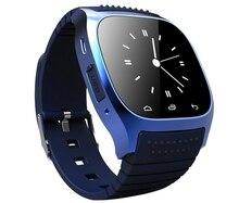 Neue Bluetooth Smart Uhr Wasserdichte Digital M26 Smartwatch mit led-anzeige barometer Musik-player für Android IOS XiaoMi Telefon