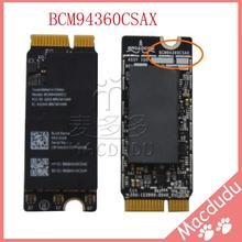 Новый оригинальный BCM94360CSAX для Pro retina A1425 A1502 A1398 Wi-Fi кард-802.11ac и Bluetooth 4,0 плата Airport 653-0029