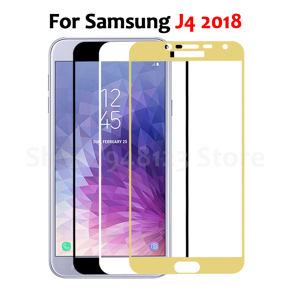 For Samsung J4 2018 Tempered Glass For Samsung Galaxy J4 2018 J400 J400F SM-J400F Protective Film Samung J 4 2018 Screen Cover