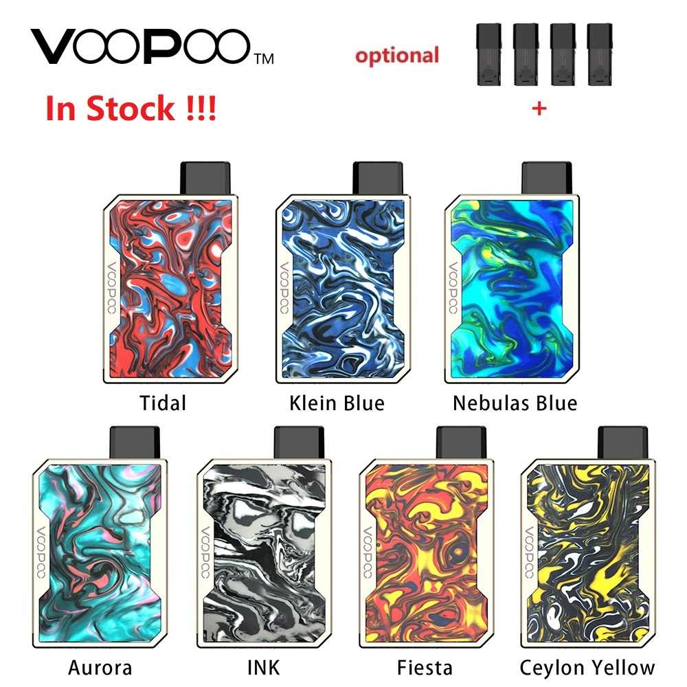 Hot Verkoop!!! VOOPOO SLEPEN Nano Pod Vape Kit w/750 mAh batterij & 1ml Pod & GENE chip & Hars panel VOOPOO Kit vs Slepen 2/minifit