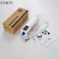 CUKYI Instant Water Heater Kitchen Bathroom ABS Material Wall Mounting Instant Heating Tankless Water Heater Tap