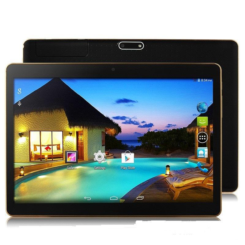 10 inch Octa Core Android 5.1 Dual Sim Mali-400 MP 3G IPS Phone Pads Tablet 7200mAh PC 2+32GB 1.7Ghz Phablet US Plug