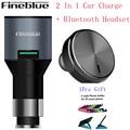 Fineblue F-458 2 В 1 Беспроводной Драйвер Auriculares Stealth Наушники Bluetooth Гарнитура Автомобильное Зарядное Устройство Моно Audifonos для Телефона