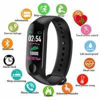 M3 Pro Smart Band Waterproof Fitness Tracker VS M3 Plus Smart Bracelet Blood Pressure Heart Rate Monitor