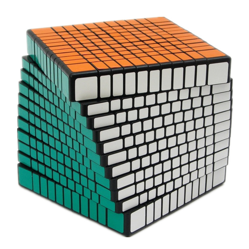 Difficile 11x11x11 cube Professionnel concurrence Cube Vitesse Jouets Éducatifs 11x11x11 cm taille cube magique cube 11 Couches