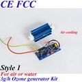 Pinuslongaeva CE EMC LVD FCC 3 g/h Quarzo tipo di tubo generatore di ozono Kit di ozono per lavatrice ozono sauna spa