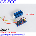 Pinuslongaeva CE EMC LVD FCC 3 gr/std quarzrohr type ozongenerator Kit ozon für waschmaschine ozon sauna spa