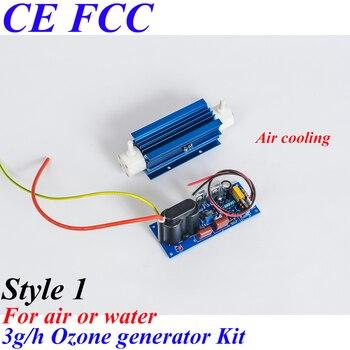 Pinuslongaeva CE EMC LVD FCC 3g/h Quartz tube type ozone generator Kit ozone for washing machine ozone sauna spa