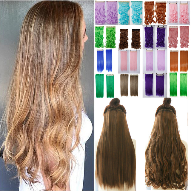 Curly one piece clip in hair extensions images hair extension one piece curly wvay synthetic hair extension clip on hairpieces one piece curly wvay synthetic hair pmusecretfo Images