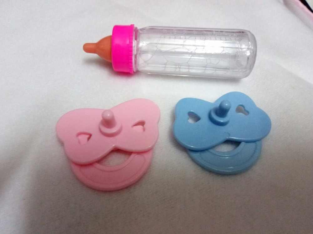 Милая Волшебная кукла для новорожденных, красная бутылочка для кормления, игрушка, бутылка с волшебным исчезающим молоком, Детские Подарочные игрушки, аксессуары