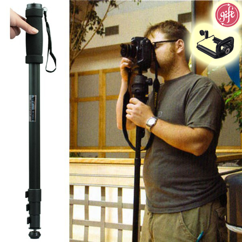 Hot selling WT1003 WT 1003 Professional Alloy Camera tripod Monopod Lightweight 67 171cm for Sony Canon