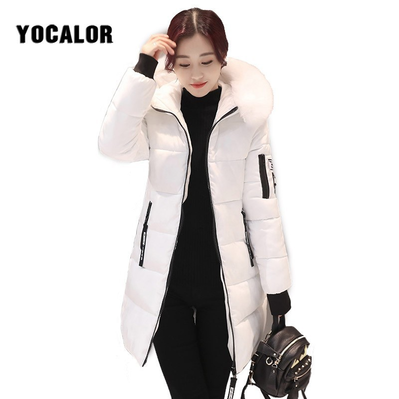 2018 Autumn Winter Cheap Coats Female Fur Coat Quilted Jacket Women Warm Parka Feminina Outerwear Plus Size Snow Wear Hooded Uk Reliable Performance
