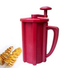 Ручной спиральный нож из нержавеющей стали для картофеля, терка для картофеля, кухонные инструменты для фруктов, овощей, резак для картофеля