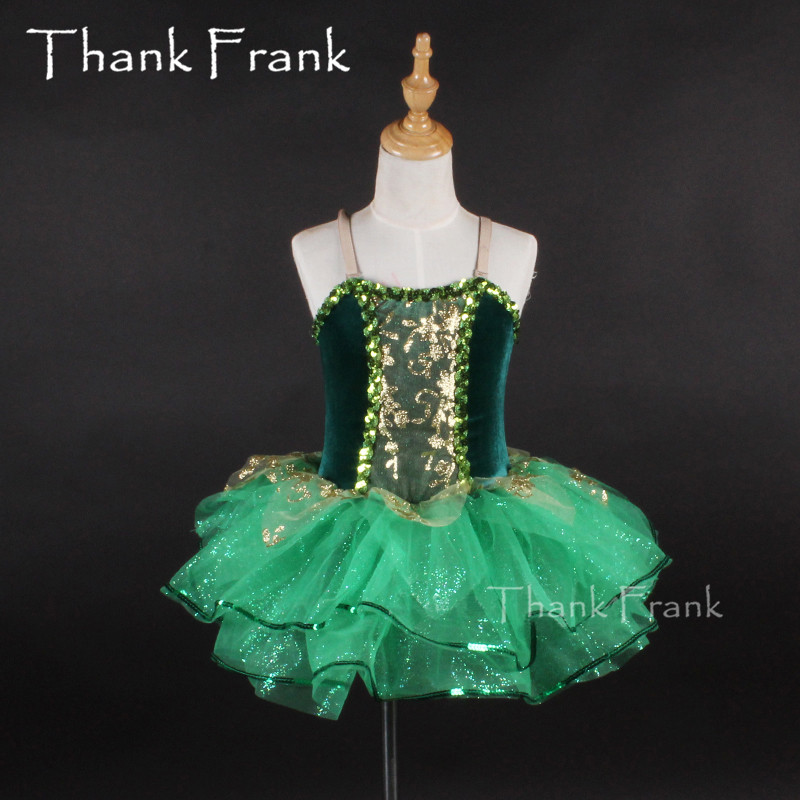 Kids Ballet Dance Dress Camisole Fancy Party Tulle Dancewear Gymnastics Leotard Dress Girls Ballerina Tutu Dress