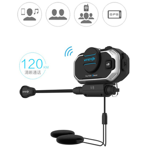 Image 2 - Vimoto Englisch Version Easy Rider V8 Multi funktionale Motorrad BT Sprech Motorrad Helm Intercom Bluetooth Headset