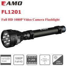 new 2IN1 HD 1080P Mini Camera DVR FL1201 Hidden Sport Camera Video Recorder Camcorder Weatherproof LED Flashlight Free Shipping