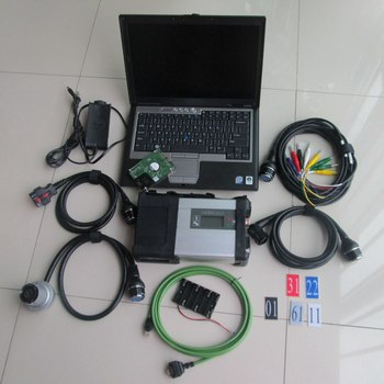 MB SD C5 Diagnosis + hdd Software 2020.3v engineer software + mb star c5 sd with laptop D630(4gb) diagnostic pc ready to work