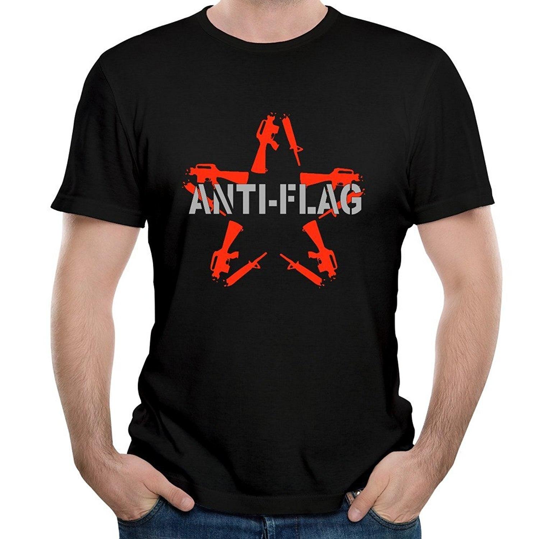 bd709308c93cedf Мужская рок-группы анти-флаг альбом американской весна футболка с короткими  рукавами
