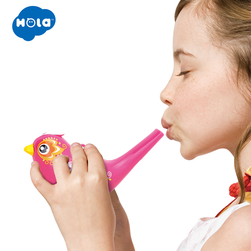 1PC Colorful Drawing Water Bird Whistle Bathtime Musical Toy For Kid Early Learning Educational Toys Children Xmas Gifts