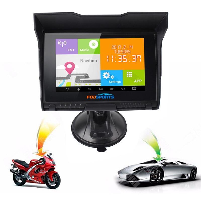 """""""Fodsports"""" 5.0 colių """"Android"""" 4.4.2 """"Motocycle"""" GPS - Automobilių Elektronika - Nuotrauka 5"""