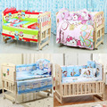 5PCS/set 120x70cm Infant Baby Bedding Set For Girl Boys Bedding Set Kids Baby Bed Bumper Baby Crib Bumper Baby Cot Set CP02