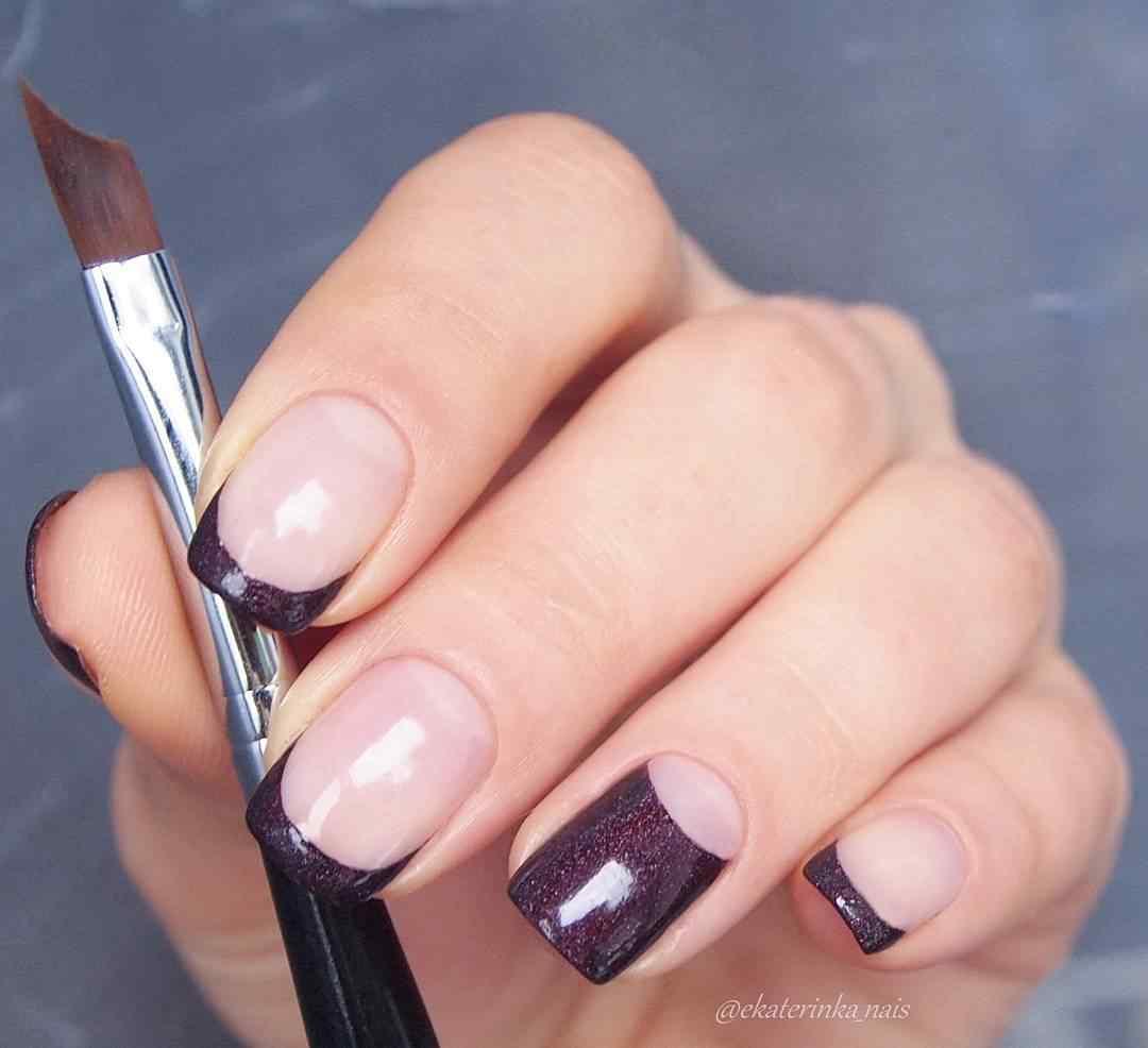 1 قطعة أدوات الأظافر الفرنسية خطوط حافة القاطع Trimmer المتقلب متعددة الحجم الفرنسية مسمار ملصقات الأظافر الفرنسية التصميم Nails DIY بها بنفسك