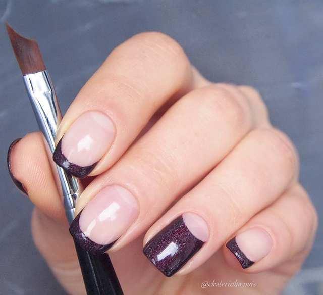 Nail Brush Drawing Painting Brush Pen Black Handle French Tips Nail Design UV Gel DIY Design Manicure Nail Art Tool